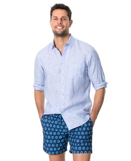 Bay Of Plenty Sports Fit Shirt, MALIBU, hi-res
