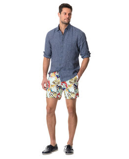 Baylys Beach Sports Fit Shirt/Marine XS, MARINE, hi-res