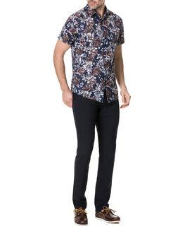 Gifford Sports Fit Shirt/Indigo XS, INDIGO, hi-res