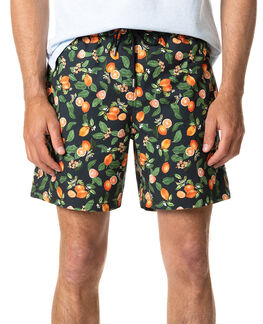 Blackwood Bay Swim Short/Orange XS, ORANGE, hi-res