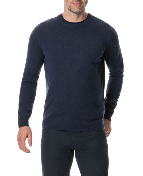 Queenstown Sweater, BLUE GRANITE, hi-res