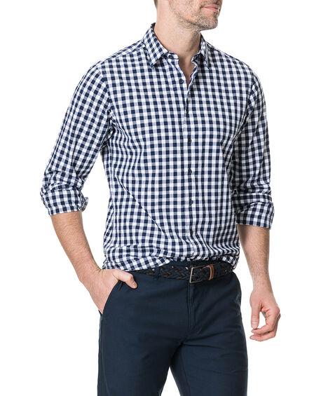 Dixon Sports Fit Shirt, NAVY, hi-res