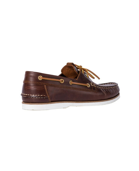 Governors Bay Boat Shoe, MAHOGANY, hi-res