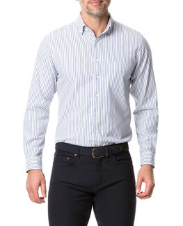 Kurow Sports Fit Shirt/Bluebell XS, BLUEBELL, hi-res