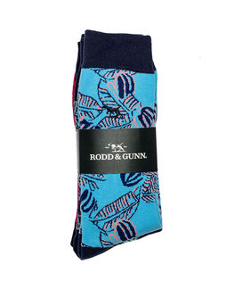 Green Point Three Pack Sock/Rainforest 0, RAINFOREST, hi-res
