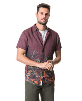 Pacific Bay Sports Fit Shirt/Sangria XS, SANGRIA, hi-res