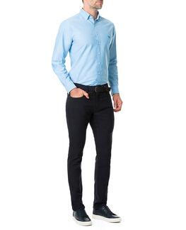 Vincent Street Sports Fit Shirt/Teal XS, TEAL, hi-res