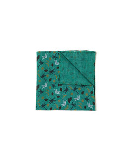 Lorne Street Pocket Sqaure/Bamboo 1, BAMBOO, hi-res