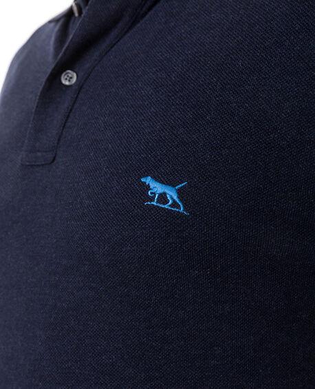 Long Sleeve Gunn Polo, NAVY, hi-res