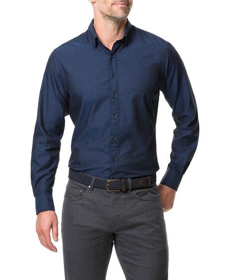 Glenpark Sports Fit Shirt, MIDNIGHT, hi-res