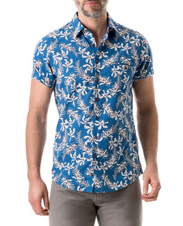 Four Rivers Sports Fit Shirt/Lagoon XS, LAGOON, hi-res