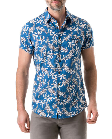 Four Rivers Sports Fit Shirt, LAGOON, hi-res