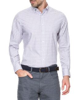 Carterton Sports Fit Shirt, CLARET, hi-res