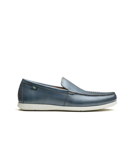 Woodside Bay Loafer, NAVY, hi-res