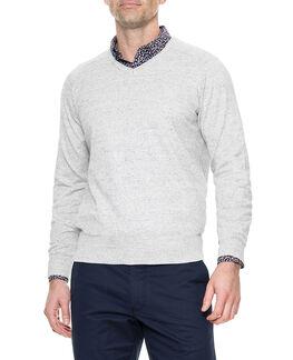 Arbors Track Sweater, OATMEAL, hi-res