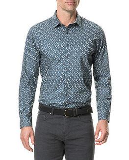 Montcalm Sports Fit Shirt/Bluestone XS, BLUESTONE, hi-res