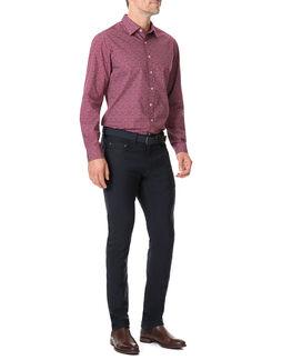 Longbeach Shirt/Bordeaux XS, BORDEAUX, hi-res