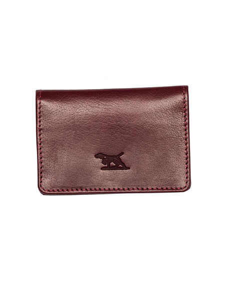 Lewis Pass (bus/Crd) Wallet, OXBLOOD, hi-res