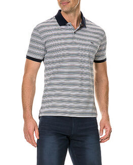 Maybeck Sports Fit Polo, NAVY, hi-res