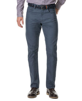 Craigavon Relaxed Fit Jean, PETROL, hi-res