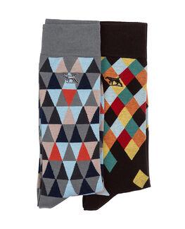 Eversham Two Pack Sock/Carnival 0, CARNIVAL, hi-res