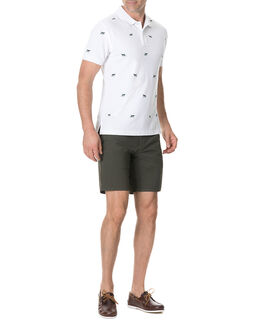 Ligar Bay Sports Fit Polo/Snow XS, SNOW, hi-res