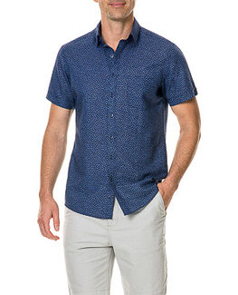 Windermere Sports Fit Shirt, INDIGO, hi-res