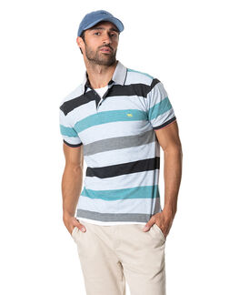 Sherry River Sports Fit Polo, BLUE FOG, hi-res