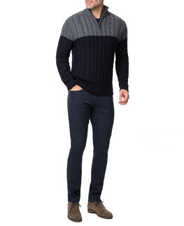 Savill Road Knit/Midnight XS, MIDNIGHT, hi-res