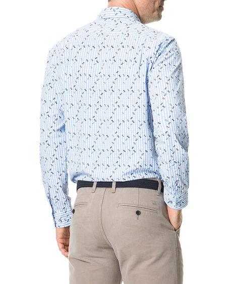 Mitchies Crossing Shirt, PEACOAT, hi-res