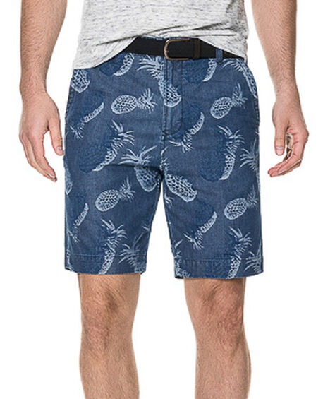 Hargreaves Slim Fit Short, INDIGO, hi-res