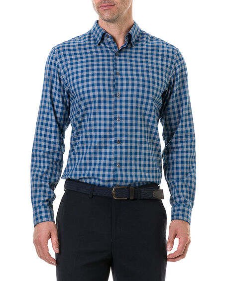 East Harbour Sports Fit Shirt, STONE, hi-res