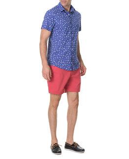 Wesley Sports Fit Shirt, AZURE, hi-res