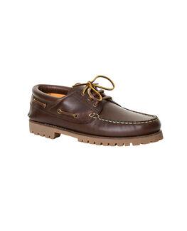 St Helen Deck Shoe, BARK, hi-res