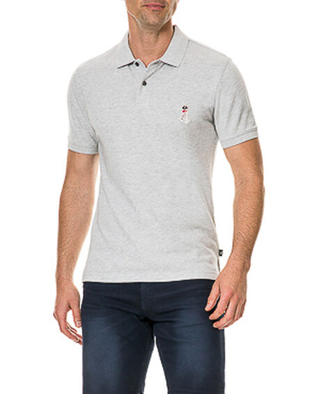 Gunner II Sports Fit Polo, ASH, hi-res