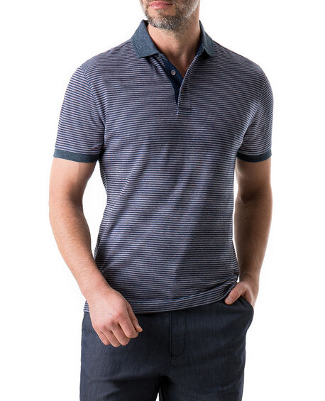 Glencoe Sports Fit Polo, ECLIPSE, hi-res