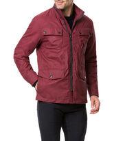 Leithfield 4 Oz Staywax Jacket, BURGUNDY, hi-res