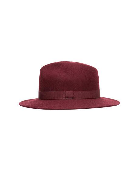 Walton Street Hat, BURGUNDY, hi-res