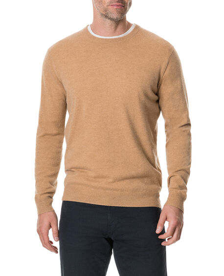 Queenstown Sweater, CEDARWOOD, hi-res