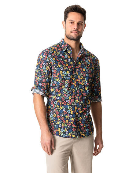 Favona Sports Fit Shirt, NERO, hi-res