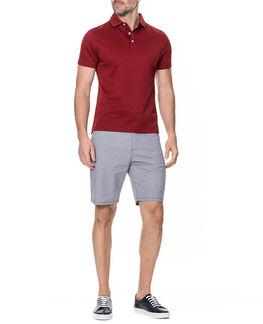 Flaxton Slim Fit Short, NAVY, hi-res