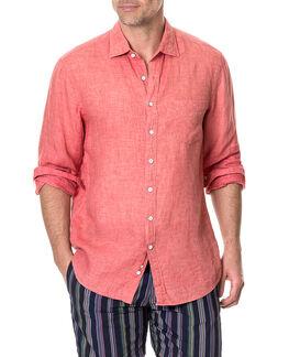 Selwyn Huts Shirt/Watermelon XS, WATERMELON, hi-res