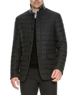 Leighton Place Jacket/Coal XS, COAL, hi-res