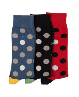 Mount Stokes Three Pack Sock/Assorted 0, ASSORTED, hi-res