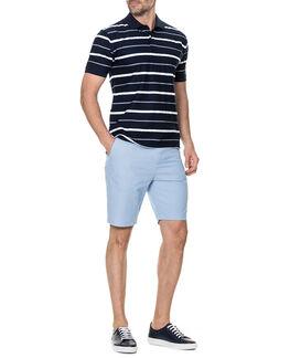 Flaxton Slim Fit Short/Sky 30, SKY, hi-res