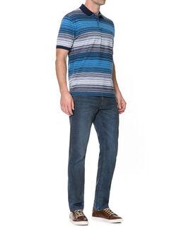 Morven Regular Fit Jean, MID BLUE, hi-res