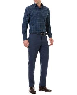 Hindley Creek Sports Fit Shirt/Navy XS, NAVY, hi-res