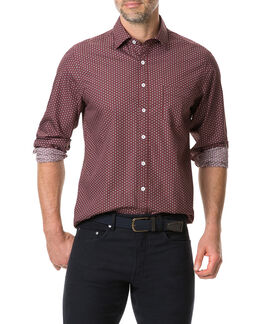 Mckenna Creek Shirt, MERLOT, hi-res