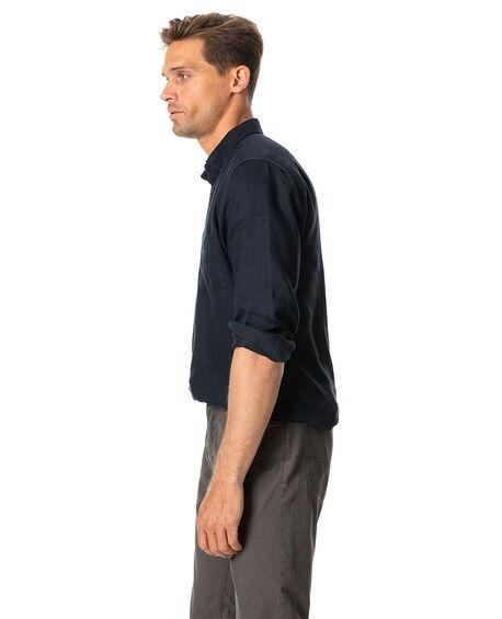 Tindalls Beach Sports Fit Shirt, MIDNIGHT, hi-res