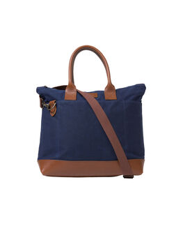 Westwood Canvas Tote Bag, MARINE, hi-res